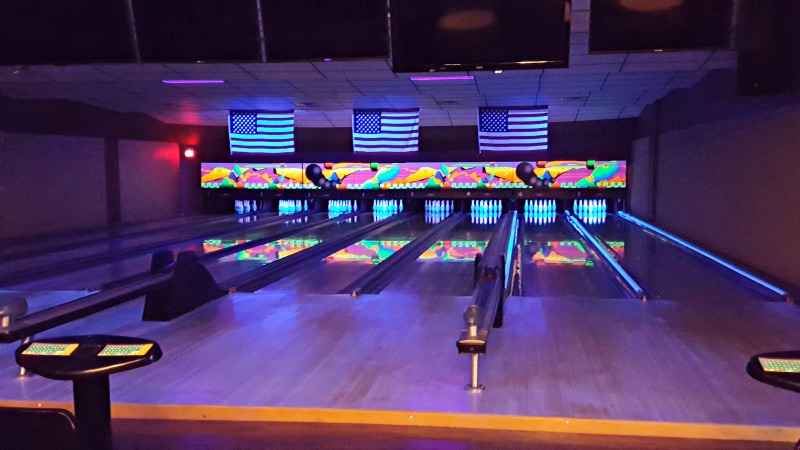 Ask about out Cosmic Bowling